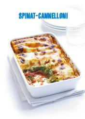 Rezept - Spinat-Canneloni - Simply Kochen Mediterran 05/2018