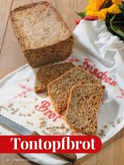 Rezept - Tontopfbrot - Simply Kreativ - Brot backen - Sonderheft - 01/2019
