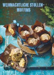 Rezept - Weihnachtliche Stollen-Muffins - Simply Kochen Special Weichnachtsgebäck - 01/2018
