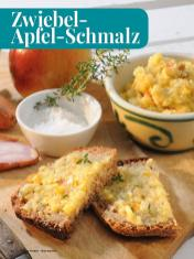 Rezept - Zwiebel-Apfel-Schmalz - Simply Kreativ - Brot backen - Sonderheft - 01/2019