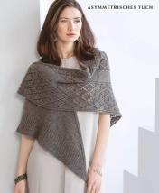 Strickanleitung - Asymmetrisches Tuch - Designer Knitting - 06/2018