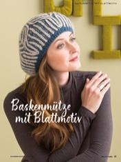 Strickanleitung - Baskenmütze mit Blattmotiv- Simply Kreativ Brioche-Guide