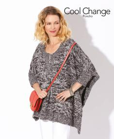 Strickanleitung - Cool Change - Poncho - Designer Knitting 05/2018