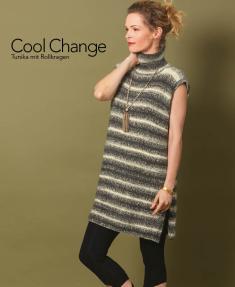 Strickanleitung - Cool Change - Tunika mit Rollkragen - Designer Knitting 05/2018