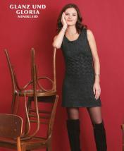 Strickanleitung - Glanz und Gloria - Minikleid - Designer Knitting - 06/2018