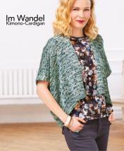 Strickanleitung - Im Wandel - Kimono-Cardigan - Designer Knitting 05/2018