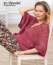Strickanleitung - Im Wandel - Ponchullover - Designer Knitting 05/2018