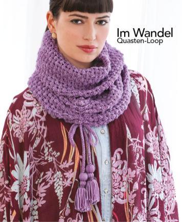 Strickanleitung - Im Wandel - Quasten Loop - Designer Knitting 05/2018