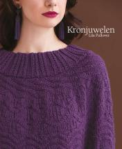 Strickanleitung - Kronjuwelen - Lila Pullover - Designer Knitting 05/2018