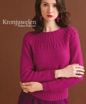 Strickanleitung - Kronjuwelen - Pinker Pullover - Designer Knitting 05/2018
