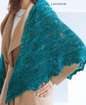Strickanleitung - Lacetuch - Designer Knitting - 06/2018