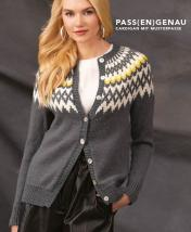Strickanleitung - Pass(en)genau - Cardigan mit Musterpasse - Designer Knitting - 06/2018