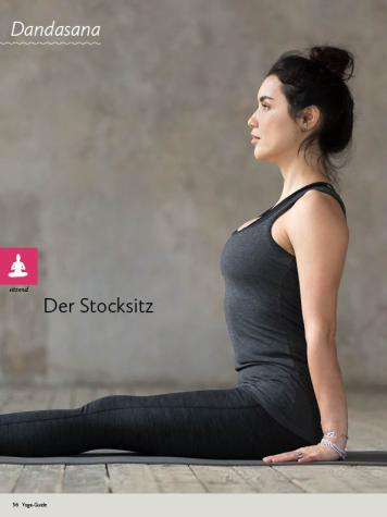 Yoga-Anleitung - Der Stocksitz - Yoga - der große Guide - 01/2018