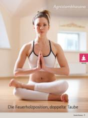 Yoga-Anleitung - Die Feuerholzposition / Doppelte Taube - Yoga - der große Guide - 01/2018