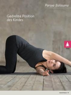 Yoga-Anleitung - Gedrehte Position des Kindes - Yoga - der große Guide - 01/2018
