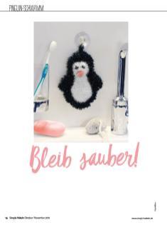 Häkelanleitung - Bleib sauber - Simply Häkeln - 06/2018