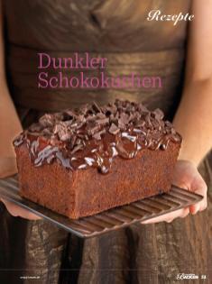 Rezept - Dunkler Schokokuchen - Das große Backen - 10/2018