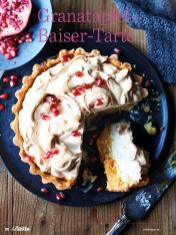 Rezept - Granatapfel-Baiser-Tarte - Das große Backen - 10/2018