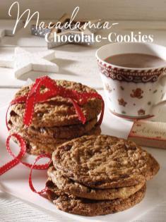 Rezept - Macadamia Chocolate Cookies - Simply Backen Special Weihnachtsplätzchen mit dem Thermomix® - 01/2018