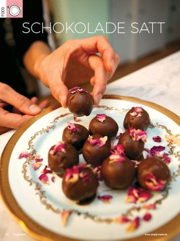 Rezept - Schokolade satt - Simply Kreativ - 04/2018