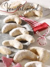 Rezept - Vanillekipferl - Simply Backen Special Weihnachtsplätzchen mit dem Thermomix® - 01/2018