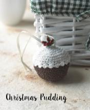 Häkelanleitung - Christmas Pudding - Mini Weihnachts-Deko Häkeln Vol. 5