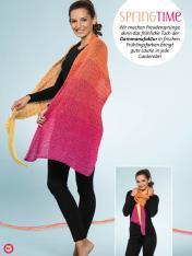 Häkelanleitung - SpringTime - Simply Kreativ Häkeln mit Farbverlaufs-Bobbeln Vol. 1 - 01/2019