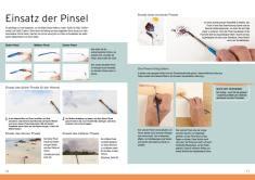 Malanleitung - Einsatz der Pinsel - Deine Malschule Vol. 3 - 03/2018