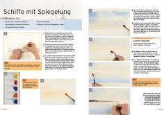 Malanleitung - Schiffe mit Spiegelung - Deine Malschule Vol. 3 - 03/2018