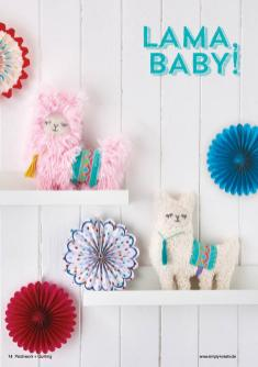 Nähanleitung - Lama, Baby! - Simply Kreativ Patchwork + Quilting - 01/2019