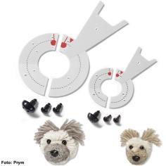 Prym Pompom-Schablonen – Hund