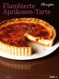 Rezept - Flambierte Aprikosen-Tarte - Das grosse Backen - 11/2018