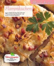 Rezept - Flammkuchen - Simply Kochen mini – Rezepte für den Thermomix® 06/2018