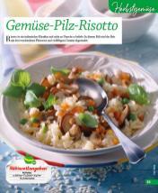 Rezept - Gemüse-Pilz-Risotto - Simply Kochen mini – Rezepte für den Thermomix® 06/2018