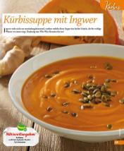 Rezept - Kürbissuppe mit Ingwer - Simply Kochen mini – Rezepte für den Thermomix® 06/2018