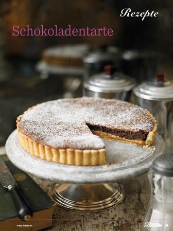 Rezept - Schokoladentarte - Das grosse Backen - 11/2018