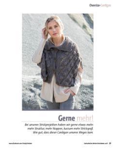 Strickanleitung - Gerne mehr! - Fantastische Winter Strickideen - 05/2018