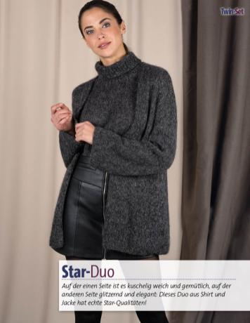Strickanleitung - Star Duo - Fantastische Winter Strickideen - 05/2018
