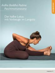 Yoga Anleitung - Ardha Baddha Padma Paschimottanasana - Sportplaner - Yoga Guide 01/2019