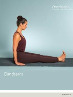 Yoga Anleitung - Dandasana - Sportplaner - Yoga Guide 01/2019