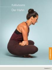 Yoga Anleitung - Kukkutasana - Sportplaner - Yoga Guide 01/2019