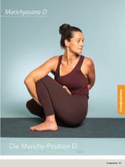 Yoga Anleitung - Marichyasana D - Sportplaner - Yoga Guide 01/2019