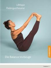 Yoga Anleitung - Ubhaya Padangusthasana - Sportplaner - Yoga Guide 01/2019