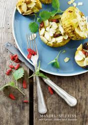 Rezept - Mandel–muffins mit Spinat, Möhre und Banane - Simply Kreativ healthy - Darm in Topform - 01/2019