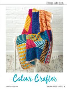 Häkelanleitung - Colour Crafter - Simply Häkeln 01/2019