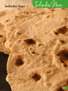 Rezept - Indisches Naan - Simply Backen Sonderheft Brotdoc Vol. 2 - Heft 02/2019