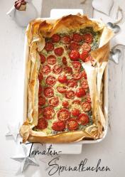 Rezept - Tomaten-Spinatkuchen - Simply Kreativ Extra – Leckere Ideen für den Thermomix® 01/19