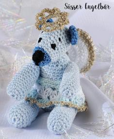 Häkelanleitung - Süßer Engelbär - Mini Häkeln Vol.6 – Teddybären 01/2019