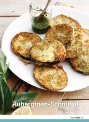 Rezept - Auberginen-Schnitzel - Healthy Vegan Sonderheft - Vegan - 01/2019