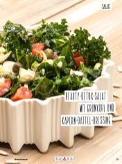 Rezept - Beauty-Detox-Salat mit Grünkohl und Kapern-Dattel-Dressing - Simply Kochen Sonderheft Detox 01/2019